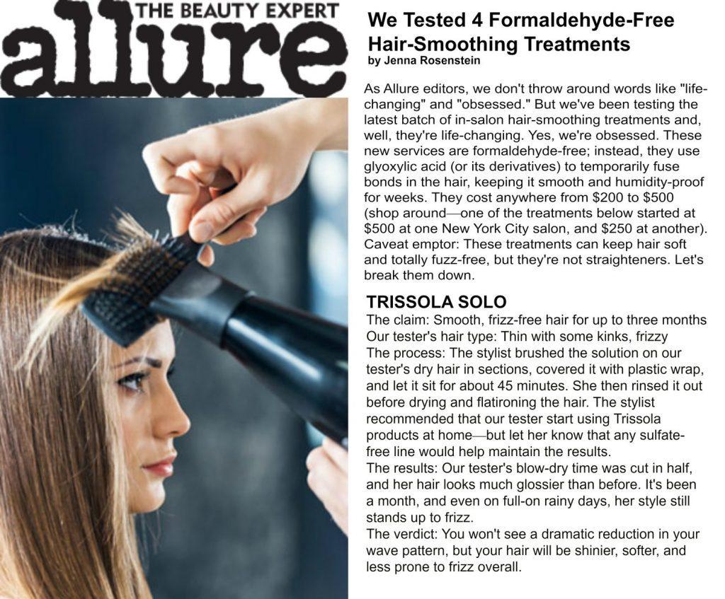 Trissola Luxury Hair Care Press