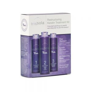 Trial Size 1.7 oz Keratin Sets